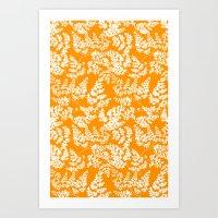 Spring Orange Art Print