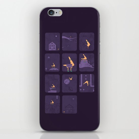 Taking The Long Road Home iPhone & iPod Skin