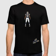 RAMpage - Tavon Austin Black Mens Fitted Tee SMALL
