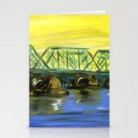 New Hope-Lambertville Bridge Stationery Cards