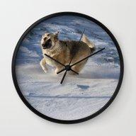 Joy In Motion Wall Clock