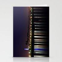 Deep Violet Night Stationery Cards