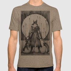 Bloodborne Mens Fitted Tee Tri-Coffee SMALL