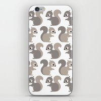 Grey Squirrel iPhone & iPod Skin