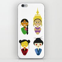 Asian Dolls iPhone & iPod Skin