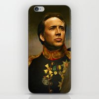 Nicolas Cage - Replacefa… iPhone & iPod Skin