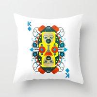 Heisenberg fan art Throw Pillow