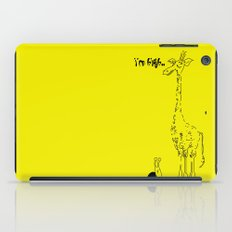 High Giraffe iPad Case
