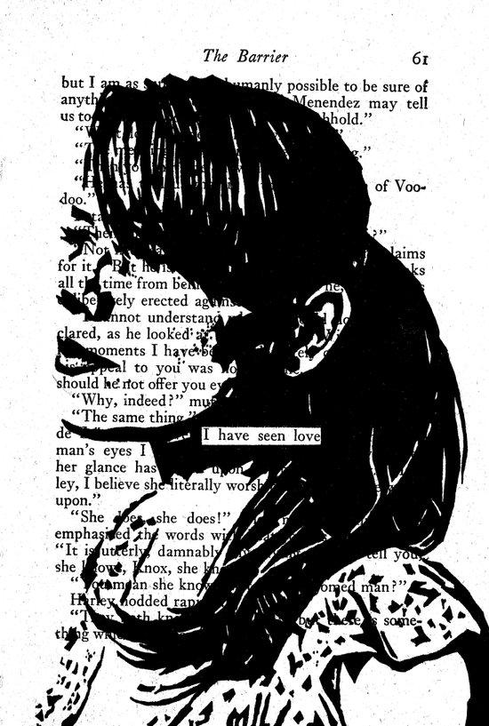 I Have Seen Love Art Print