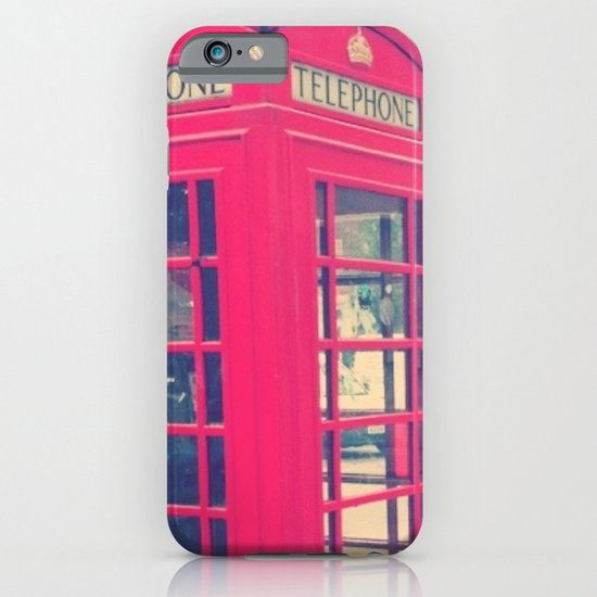 London Phonebooth iPhone & iPod Case