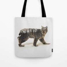 Arctic Lynx Tote Bag