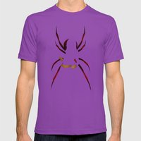 SuperHeroes Shadows : Black Widow Mens Fitted Tee Ultraviolet SMALL