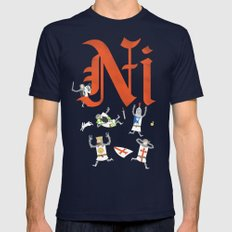 Ni! Mens Fitted Tee Navy SMALL
