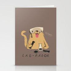 Lab-rador Stationery Cards