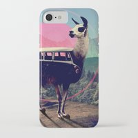 vw iPhone & iPod Cases featuring Llama by Ali GULEC