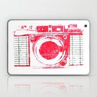 Red Camera Laptop & iPad Skin