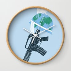 'Peace Within' Wall Clock