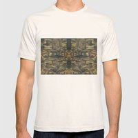 Stalagmites Version 2 Mens Fitted Tee Natural SMALL