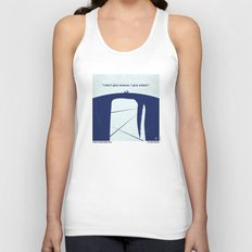No267 My MOBY DICK minimal movie poster Unisex Tank Top