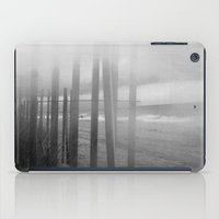 Wander ~ Black and white version iPad Case