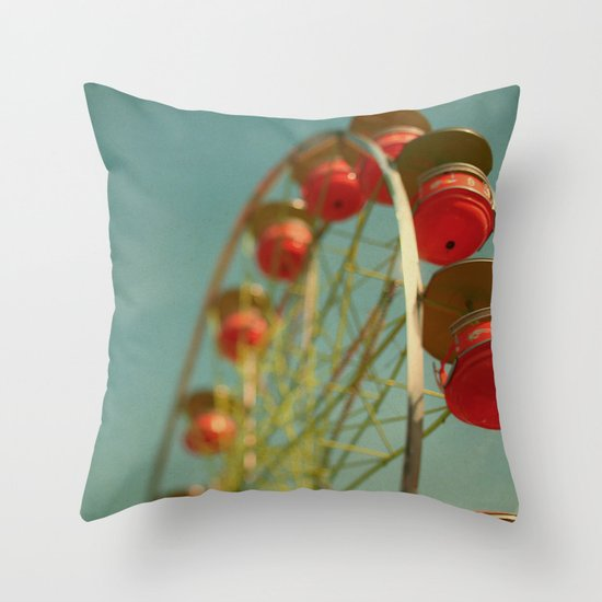 Grande Roue Throw Pillow