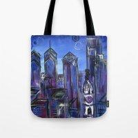 Starry Philadelphia Tote Bag