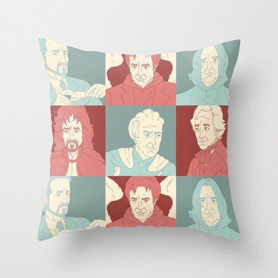 Rickmans Throw Pillow