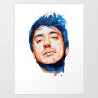 Robert Downey Jr. Art Print