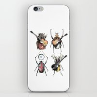 Meet The Beetles (white … iPhone & iPod Skin