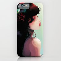 La Cantatrice en greve... iPhone 6 Slim Case