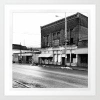 Ohio Ghost Town... Art Print