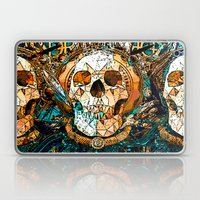 Old Skull Laptop & iPad Skin