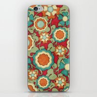 Autumn Floral iPhone & iPod Skin