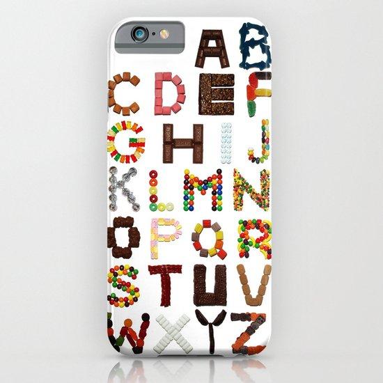 Candy Alphabet iPhone & iPod Case