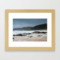 Kinnagoe Bay Framed Art Print