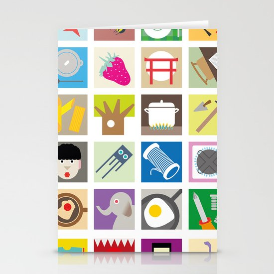 Elements Stationery Card