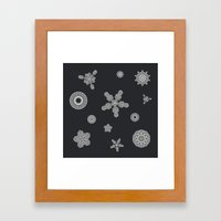 TeknoFlake Framed Art Print