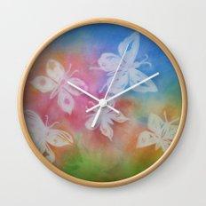 Butterfly Dream Wall Clock