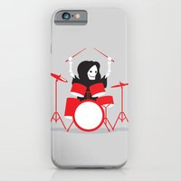 iPhone Cases featuring Death Metal by DWatson