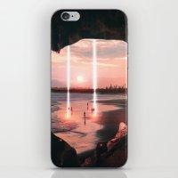Escape through the light II iPhone & iPod Skin
