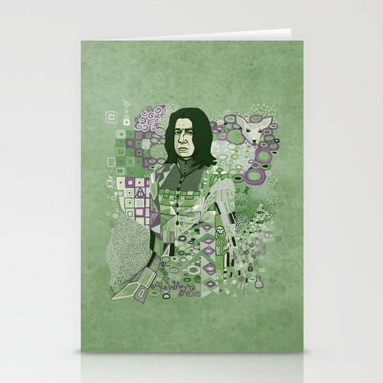 Portrait of a Potions Master Stationery Card