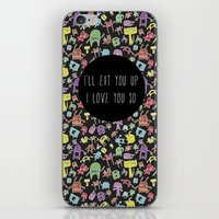 Little Monsters iPhone & iPod Skin