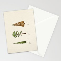 Fur Tree Stationery Cards