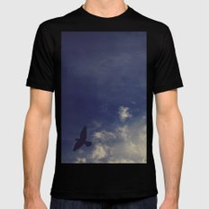 Blown away SMALL Mens Fitted Tee Black