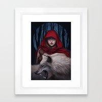 Blood To Bear Me Flowers Framed Art Print