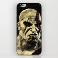 kratos iPhone & iPod Skin