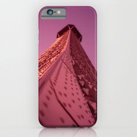 Purple Eiffel  iPhone & iPod Case