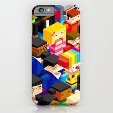 Pattern people iPhone 6 Slim Case