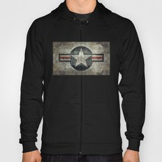 Stylized Tribute of the US Air force Roundel insignia #1 Hoody