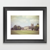 Oxford College Framed Art Print